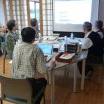 2016年3月の合宿 マカバイ記一の翻訳者委員会の様子