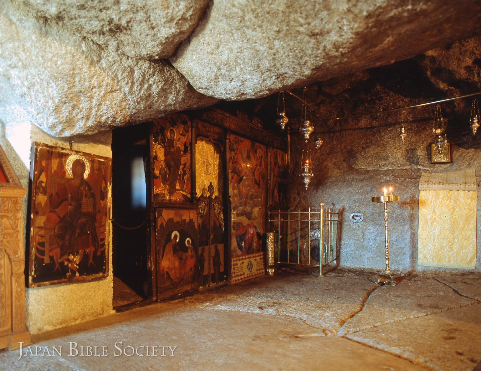 ヨハネ黙示の洞窟