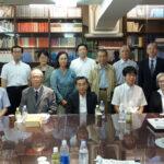 第5回五書・歴史書編集委員会終了後、委員会メンバー