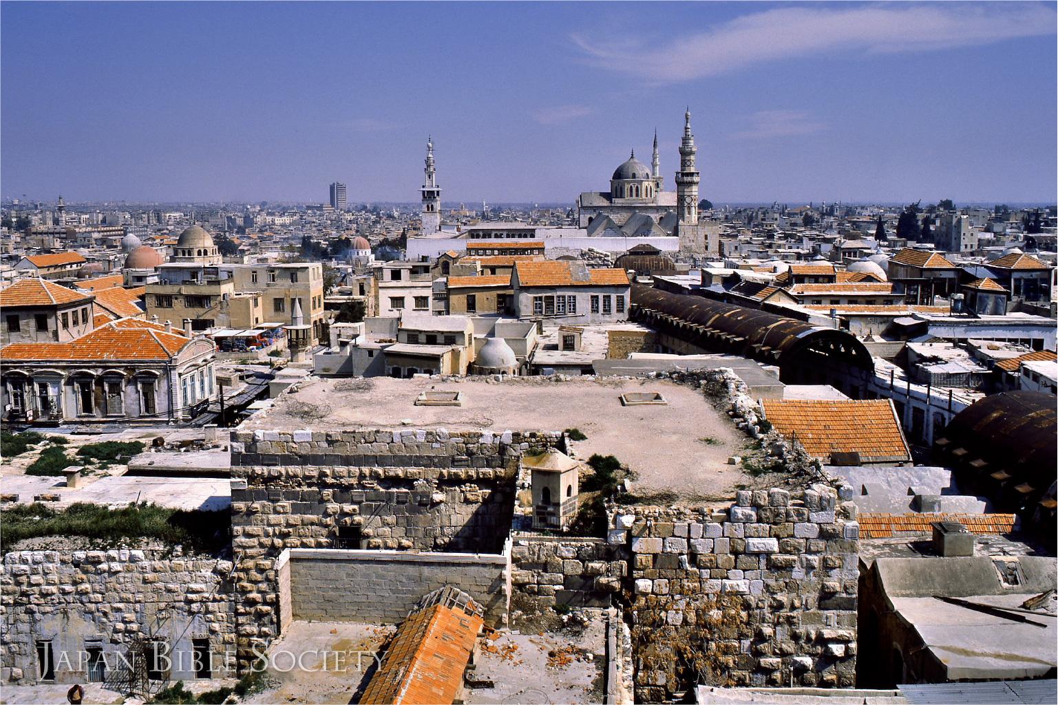 ダマスコ旧市街(シリア)