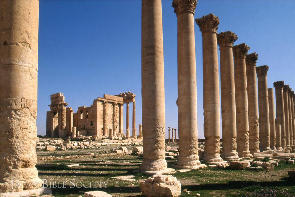 パルミラ遺跡のベル神殿-シリア