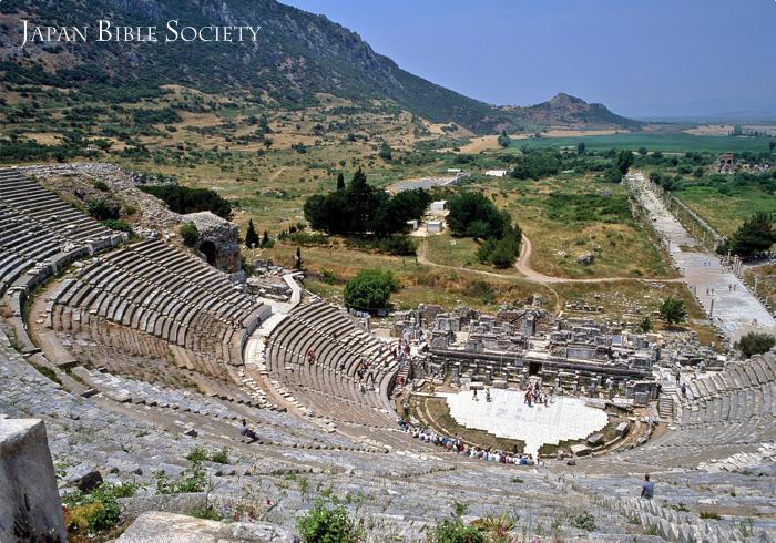 エフェソの大野外劇場