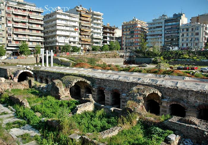 テサロニケのアゴラ遺跡