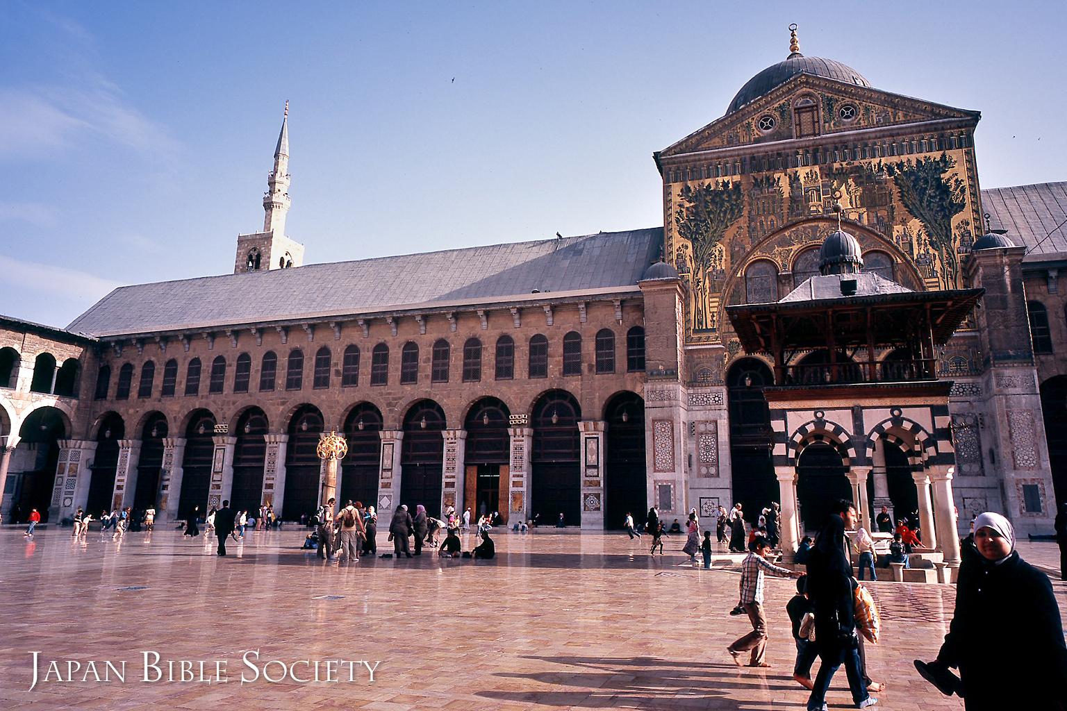 ダマスコのウマイヤドモスク(シリア)