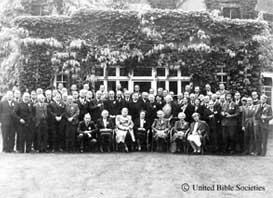 ヘイワーズ・ヒースの会議に出席した人々