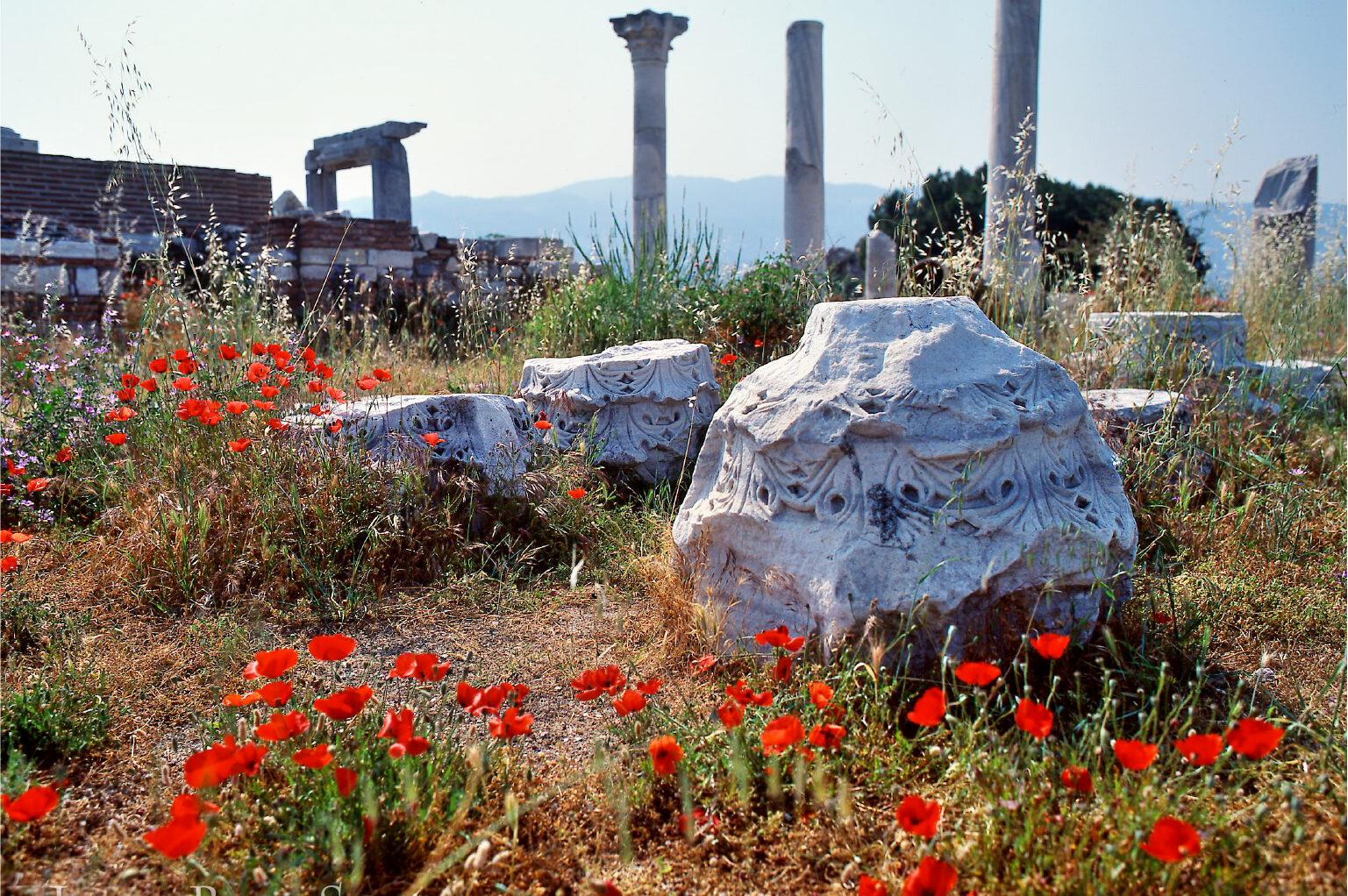 エフェソのヨハネ教会跡(トルコ)